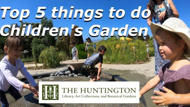 Children's Garden – Huntington Library