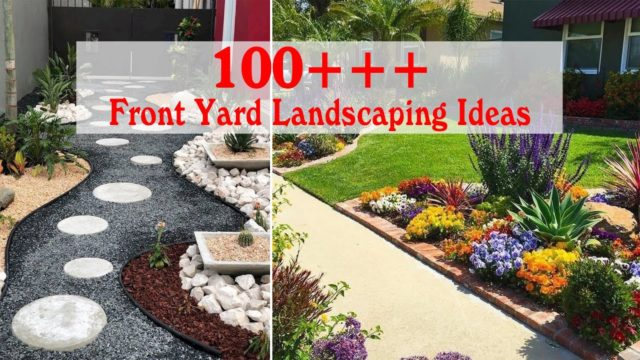 100 Simple and Wonderful Front Yard Landscaping Ideas On A Budget