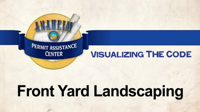 Visualizing the Code – Front Yard Landscaping