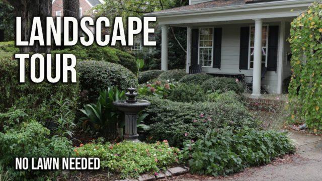 Landscape Garden Tour – No Lawn