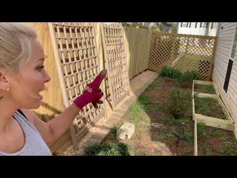 Side Garden – How to SO diy backyard ideas