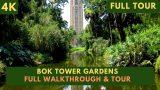 [4K] Bok Tower Gardens Full Walkthrough and Tour
