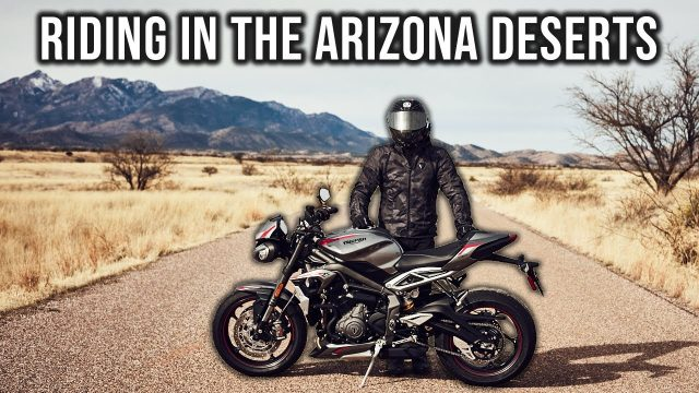 Flying to Arizona to Ride Motorcycles in the Desert!