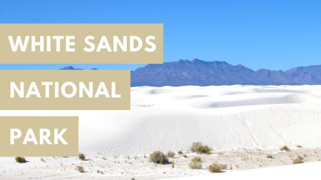 Sledding and Hiking in the Chihuahuan Desert – White Sands National Park –  – New Mexico