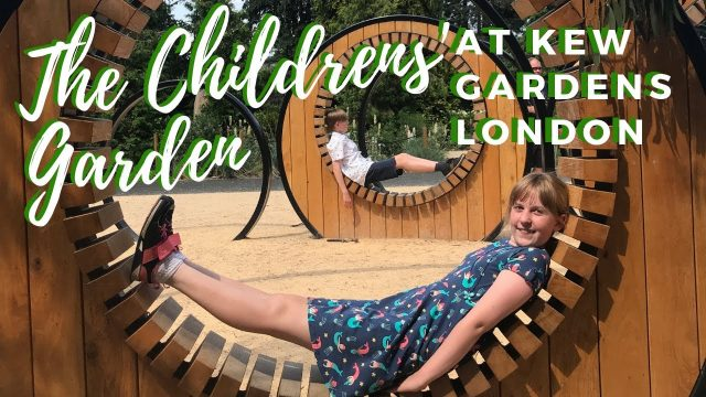 The Childrens' Garden at Kew Gardens London
