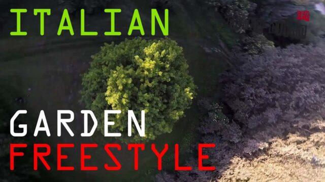 Italian Garden freestyle fpv drone ( frank citro )