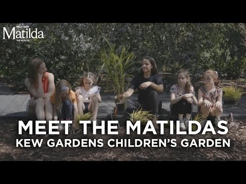 Meet The Matildas | Kew Gardens Children's Garden