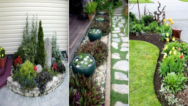 20 Easy Landscaping Ideas for Your Front Yard | diy garden