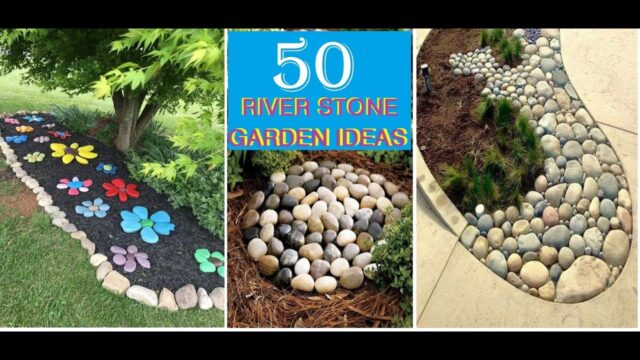 Top 50 River Stone, Rock Garden Ideas 2020, Home Landscaping Designs, Home Garden Decor Ideas