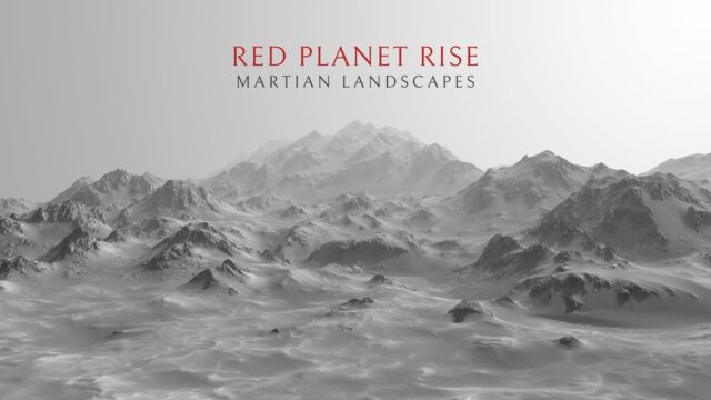 Red Planet Rise – Martian Landscapes [ 4k ]