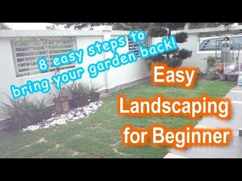 Easy Landscaping for Beginner