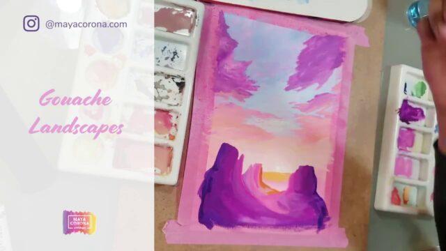 Arizona Landscapes Process Video