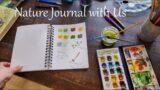 How We Do Nature Journaling | Charlotte Mason Inspired Homeschool