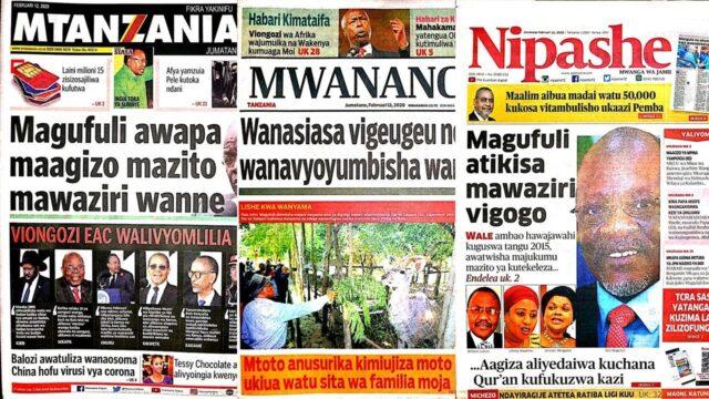 Mtoto anusurika kimiujiza moto ukiua watu sita/Wanasiasa vigeugeu wanavyoyumbisha wananchi.