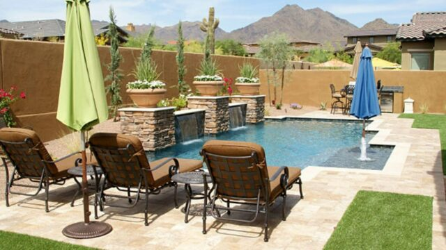 Small Arizona Backyard Landscape Design Ideas