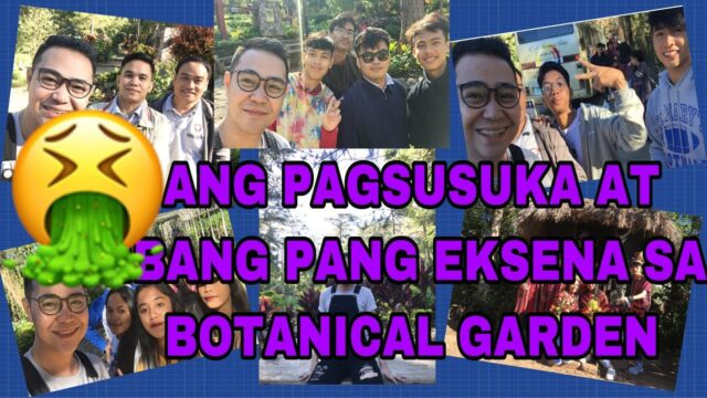 MGA GANAP SA BOTANICAL GARDEN BAGUIO CITY | VLOGS NI SIR A
