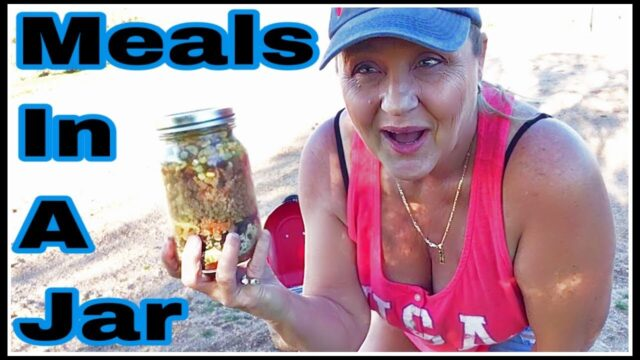 Prepper Cooks Meals In A Jar In The Arizona Desert