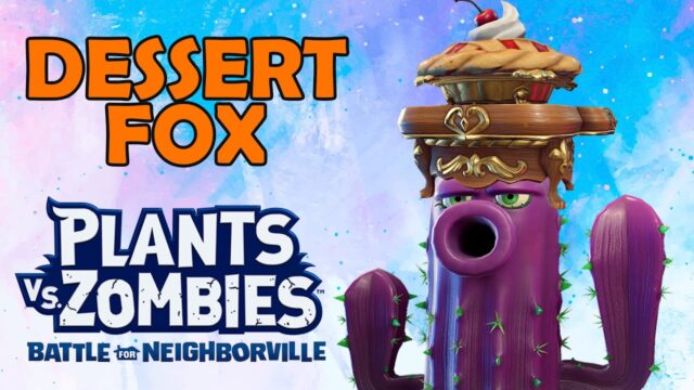 Violet Femme (Cactus) & Dessert Fox (Reaction Hat) in Plants vs Zombies Battle for Neighborville