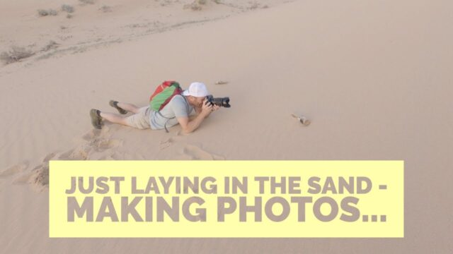 Desert Landscape Photography At A Southern California Sand Dune