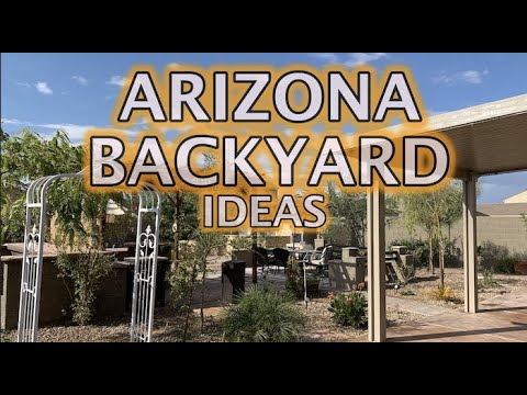 Arizona Backyard Ideas on a Budget