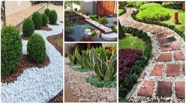 30 Inspiring Rock Garden Landscaping Ideas On a Budget | diy garden