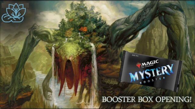 Mystery Booster Box Opening–Patrons Rejoice