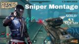 Hyper Scape | Zero Viewer Streamer Presents | Solo Vs Squad Sniping Montage | Thanks For 900 Subs.