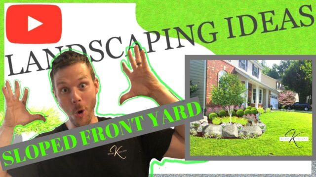 How to Landscape design FRONT YARD for beginners