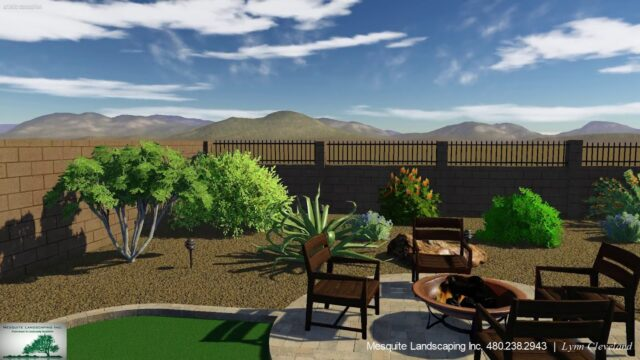 Mountain Bridge Mesa AZ – Desert Landscaping – Revised