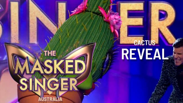 Cactus Revealed | The Masked Singer Australia