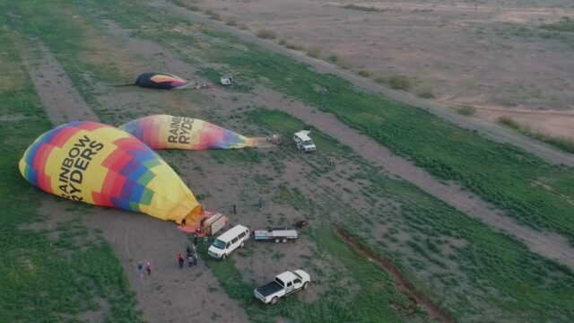 Our Hot Air Balloon adventure! With Rainbow Ryders in Phoenix, AZ!
