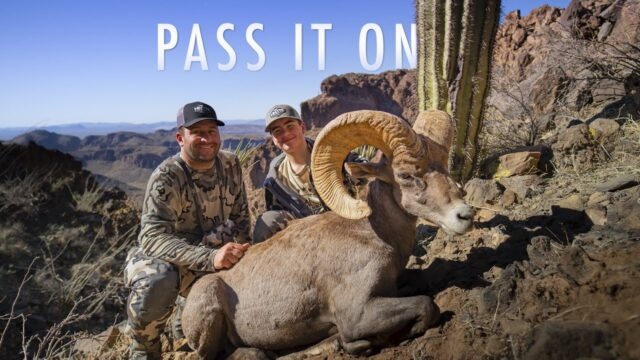 Arizona Desert Sheep Hunt | THE ADVISORS: Pass It On