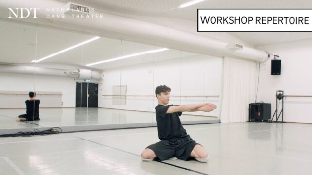 Workshop repertoire: Jesse teaching 'Cacti' by Alexander Ekman