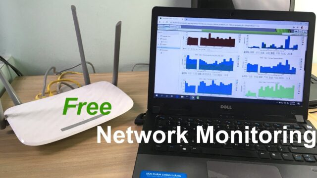 How to network monitoring on Windows for free | Cacti