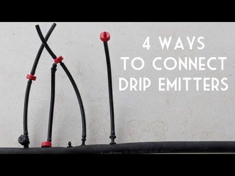 Desert Gardening Basics: How to Install Drip Emitters