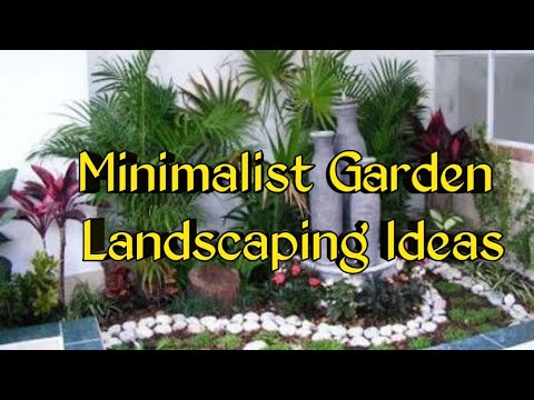 Minimalist Garden Landscaping Ideas