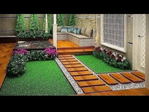 Classic small garden landscaping design ideas