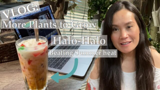 VLOG/Propagating More Plants/Halo Halo Pinoy Summer Dessert