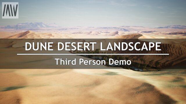 MAWI Dune Desert Landscape | Demo