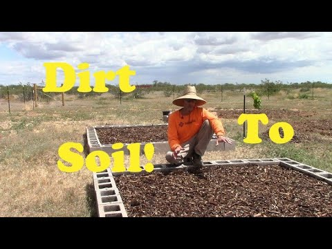 Creating Soil in the Arizona Desert | #farmwithme