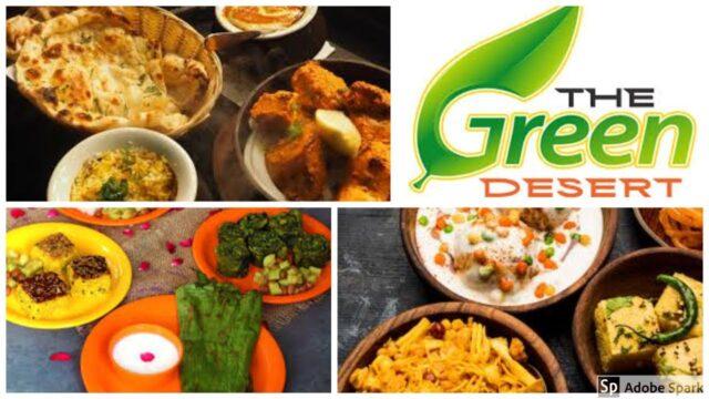 The Green Desert Garden Restaurant    Garden Restaurant in Vaishnodevi temple, Ahmedabad