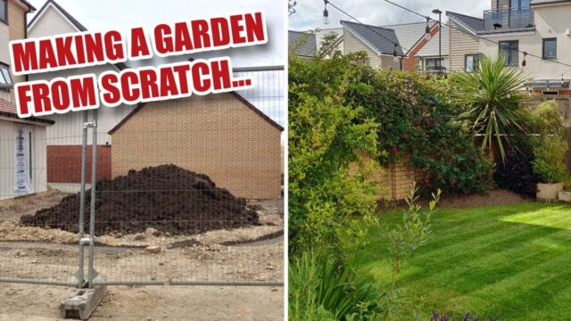 Making our Garden from Scratch – New Build Landscaping
