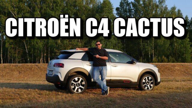 Citroen C4 Cactus 2018 (PL) – test i jazda próbna