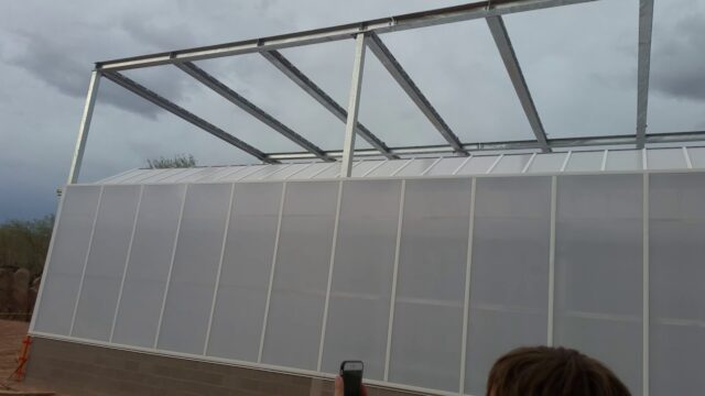 Desert Botanical Gardens construction site