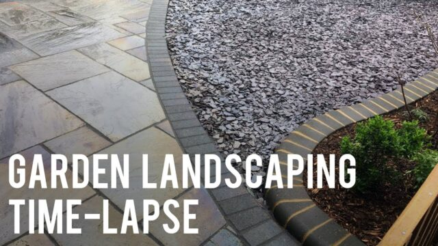 Garden Landscaping Time-Lapse