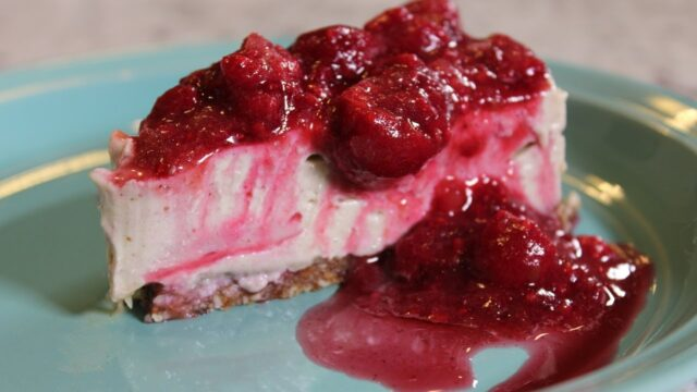 Vegan Classic Cheesecake/refined sugar free, dairy free: The Whole Food Plant Based Recipe