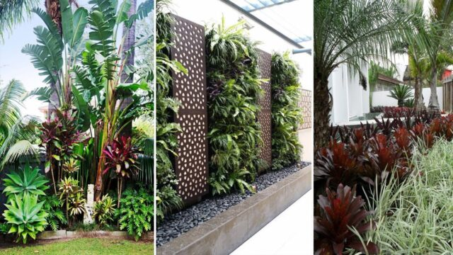 34 Amazing Tropical Landscaping Ideas To Make Beautiful Garden | garden ideas