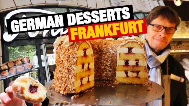 5 Best German Desserts in Frankfurt