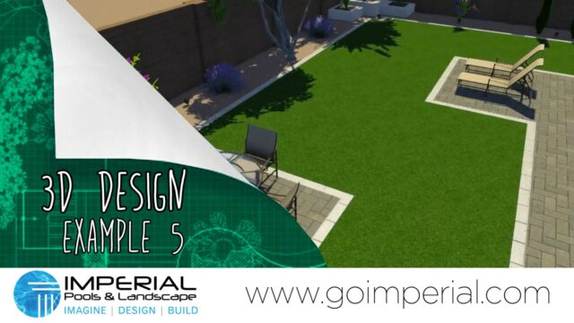 Arizona 3D Landscape Design Example 5