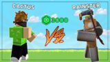 CHALLENGING RAINSTER to an Arsenal COMPETITION! (Roblox)